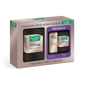 Crema de Noche Dermatoline Lift Effect Plus 50 ml + Contorno Ojos 15ml + Crema Noche 15ml