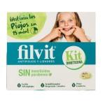 Kit Filvit Antipiojos con Dimeticona Sin Insecticidas ni Parabenos