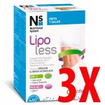 Ns Lipoless 3 x 60 comprimidos tratamiento 3 meses