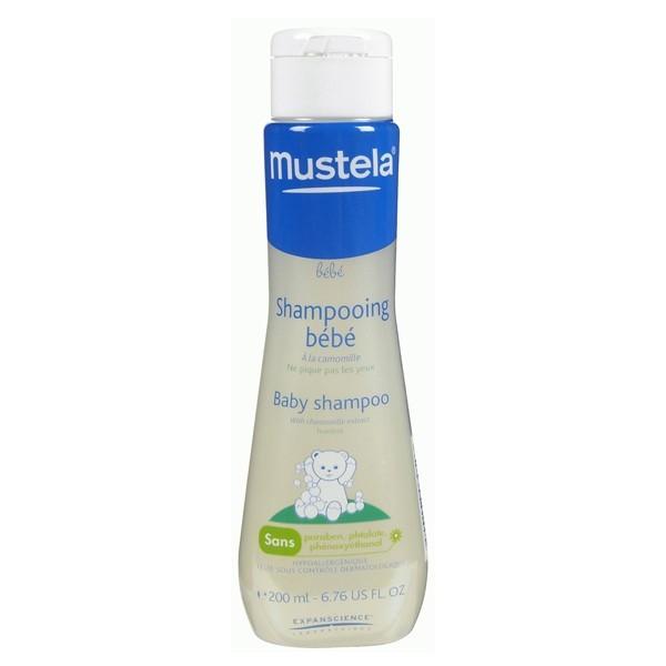 Baño Infantil Mustela:Champu Bebe Neutro Mustela 200 ml