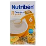 Nutriben 8 cereales con Miel y Galletas Maria 600 g