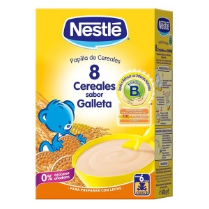Nestle 8 cereales con Galleta Maria 600 g