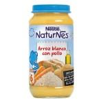 Naturnes Arroz Blanco con Pollo Potito Nestle 250 g
