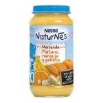 Naturnes Platano Naranja y Galletas Potito Nestle 250 g