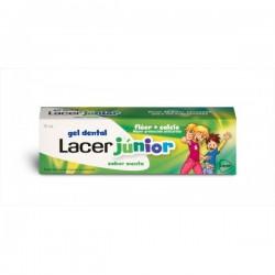 Gel dentífrico Lacer Júnior Menta 75 ml