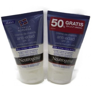 Neutrogena Crema de Manos Anti-Edad SPF 25 Duplo 2 x 50 ml