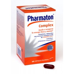 Pharmaton® Complex 60 capsulas blandas