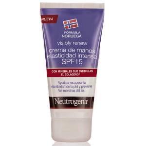 Neutrogena Crema de Manos Elasticidad Intensa Visibly Renew SPF20 50 ml