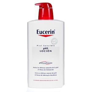 Locion Hidratante Eucerin Skin Protection 1 litro Piel Sensible