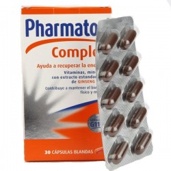 Pharmaton Complex 30 comprimidos Formula Mejorada