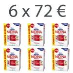 Lote 6 x Nidina 2 Premium 1 Kilo Formato Ahorro