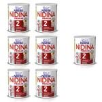 Lote 6 + 1 Nidina 2 Premium 800 g.